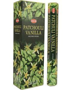Hem Patchouli Vanilla Hexa