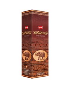 Hem Sandalwood Square (25 x 8 Sticks)