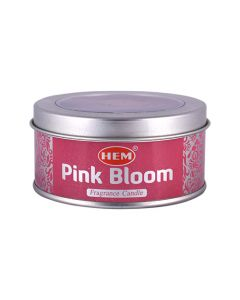Hem Pink Bloom Candle
