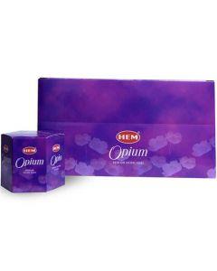 Hem Backflow Cones Opium