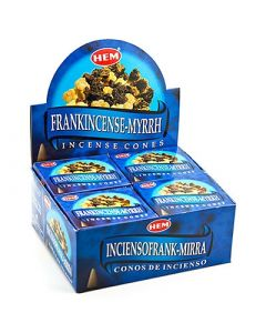 Hem Frankincense Myrrh Cones