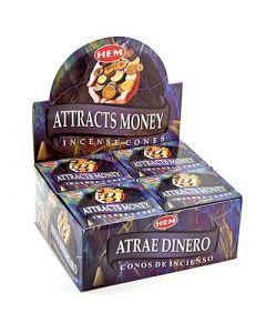 Hem Attracts Money Cones
