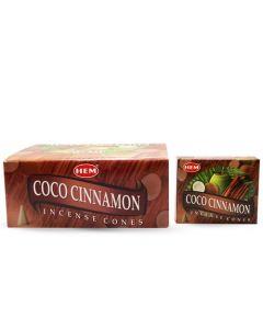 Hem Coconut Cinnamon Cones