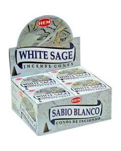 Hem White Sage Cones