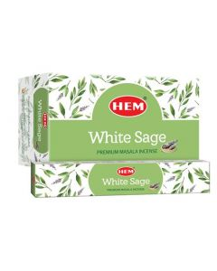 Hem White Sage Masala Incense 15 Grams