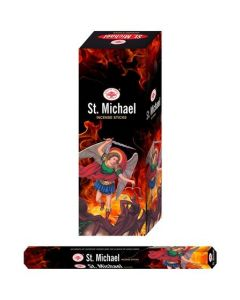 Green Tree St. Michael Hexa Incense Sticks