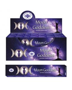 Green Tree Moon Goddess Incense 15 grams