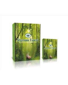 Green Tree Mother Earth Backflow Incense Cones (pack of 12)