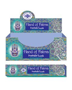 Green Tree Hand Of Fatima Natural Incense 15 grams