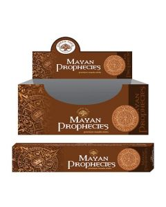 Green Tree Mayan Prophecies Natural Masala Incense 15 grams