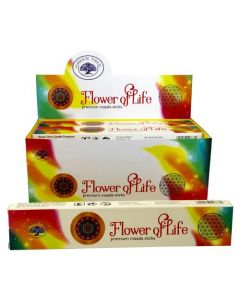 Green Tree Flower of Life Natural Masala Incense 15 grams
