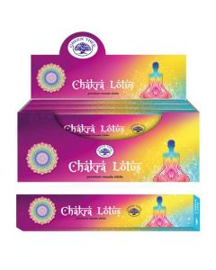 Green Tree Chakra Lotus Natural Masala Incense 15 grams