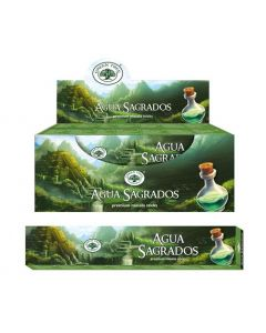 Green Tree Aqua Sagrados Natural Incense 15 grams