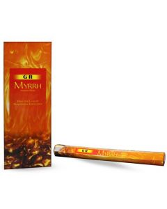 GR Myrrh Hexa Incense Stick