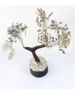 Gem Tree Labradorite 160 Beads - Balancing and Protecting
