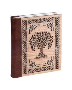 Leather Journal Tree Of Life laser cutting design