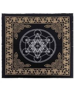 Cotton Altar cloth 60 x 60 cm  Geometric Altar Cloth