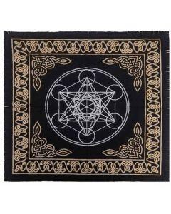 "Cotton Altar cloth 24""x24""  Geometric Altar Cloth"