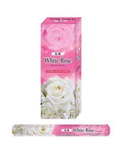 GR White Rose Hexa Incense Stick