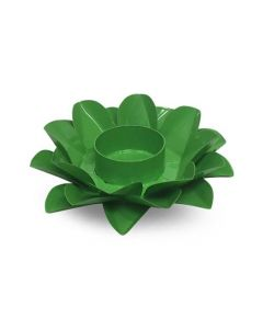 LOTUS CANDLE HOLDER GREEN HEART CHAKRA