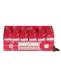 Satya Dragon's Blood Backflow Dhoop Cones