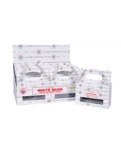 Satya White Musk Backflow Dhoop cones