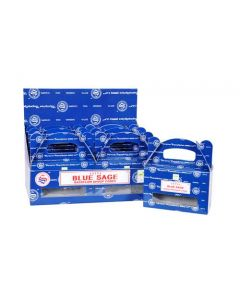 Satya Blue Sage Backflow Dhoop cones