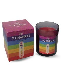 Green Tree 7 Chakra's Scented Candle 210 Grams