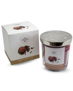 Green Tree Sandalwood & Clove Candle 200 Grams