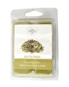 Green Tree White Sage Wax Melts 80 grams (6 pieces)