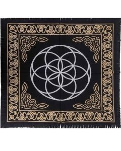 Cotton Altar cloth 60 x 60 cm Seed of Life