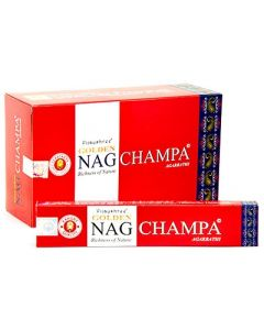 Golden Nag Champa Incense 15 grams
