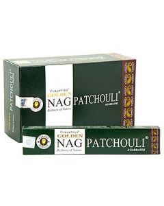 Golden Nag Patchouli Incense 15 grams