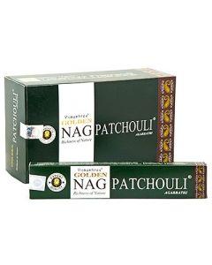 Golden Nag Patchouli Incense 15 grams