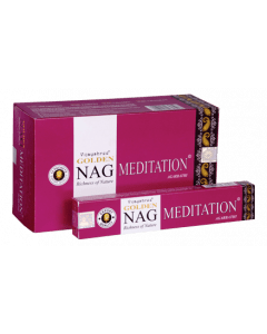 Golden Nag Meditation Incense 15 grams