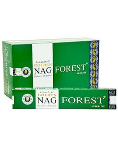 Golden Nag Forest Incense 15 grams