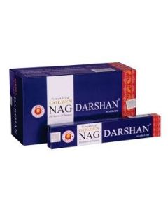Golden Nag Darshan Incense 15 grams