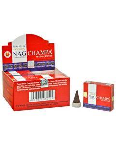 Golden Nag Champa Cones