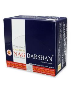 Golden Nag Darshan Dhoop Cones