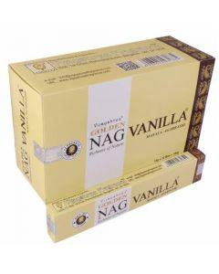 Incienso Golden Nag Vanilla 15 gr