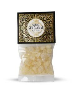 Goloka Resin Incense Gum Dammar  - 30 grams 12 pack