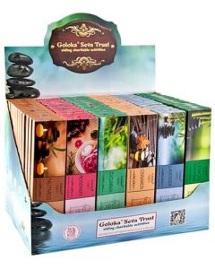 Goloka Aromatherapy Display Set - 72 Packs