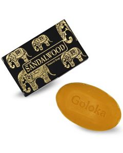 Goloka Nag Champa Sandalwood Natural Soap 75 gram