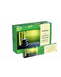 Goloka Aromatherapy Lemongrass Incense 15 grams