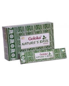 Goloka Nature's Basil Incense 15 grams