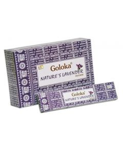 Goloka Nature's Lavender Incense 15 grams