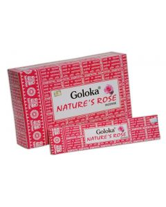 Goloka Nature's Rose Incense 15 grams