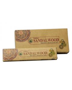 Goloka Sandalwood 15 grams (6 per box)