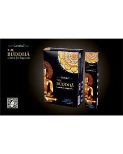 Goloka Mystirious Black Buddha Incense 15 grams