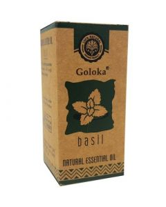 Goloka Basil Essential Oil 10 ml